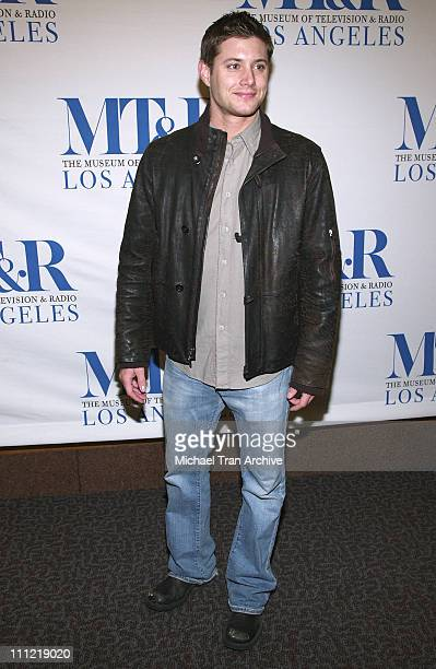 Jensen Ackles during The Museum of Television Radio Presents The 23rd Annual William S Paley TV Festival An Evening with 'Supernatural' at The...