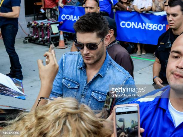 Jensen Ackles is seen on July 19 2017 in San Diego California
