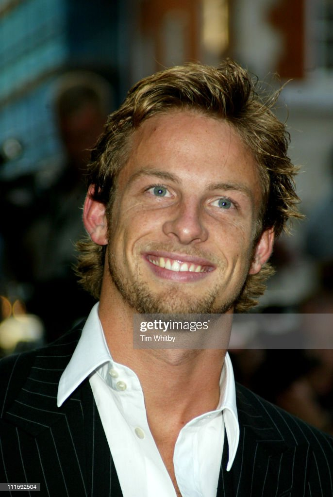 <a gi-track='captionPersonalityLinkClicked' href=/galleries/search?phrase=Jenson+Button&family=editorial&specificpeople=171505 ng-click='$event.stopPropagation()'>Jenson Button</a> during 2005 GQ Men of the Year Awards - Outside Arrivals at Royal Opera House in London, Great Britain.