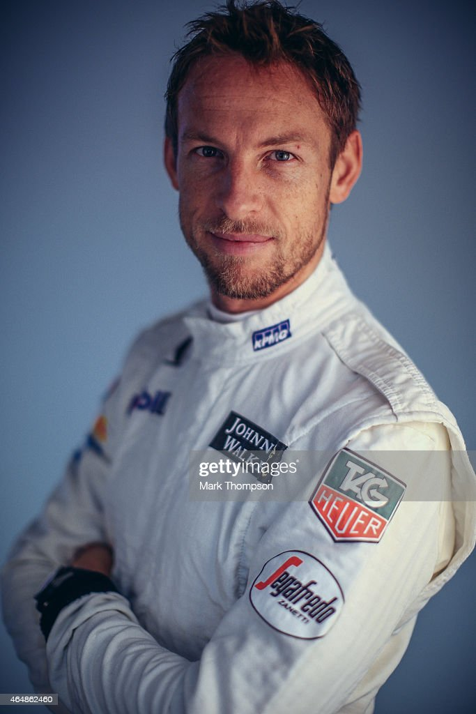 <a gi-track='captionPersonalityLinkClicked' href=/galleries/search?phrase=Jenson+Button&family=editorial&specificpeople=171505 ng-click='$event.stopPropagation()'>Jenson Button</a> of Great Britain and McLaren Honda poses for a portrait during day three of Formula One Winter Testing at Circuit de Catalunya on February 21, 2015 in Montmelo, Spain.