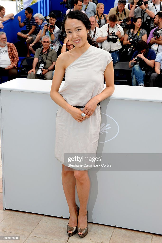 Jeon Do-yeoun at the photocall for 'The Housemaid' during the 63rd Cannes International Film Festival.
