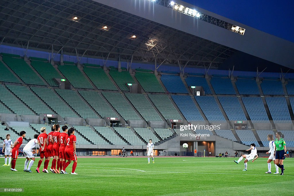 China v South Korea - AFC Women's Olympic Final Qualification Round