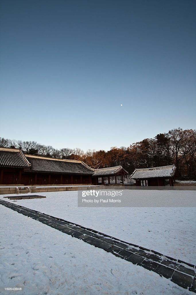 Jeongmyo Shrine : Stock Photo