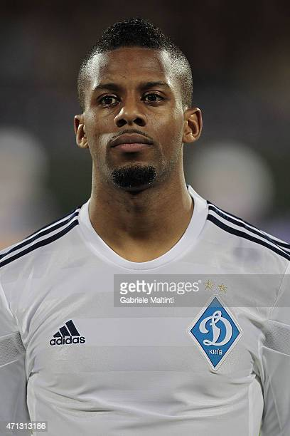 Jeremain Lens of FC Dynamo Kyiv during the UEFA Europa League Quarter Final match between ACF Fiorentina and FC Dynamo Kyiv on April 23 2015 in...