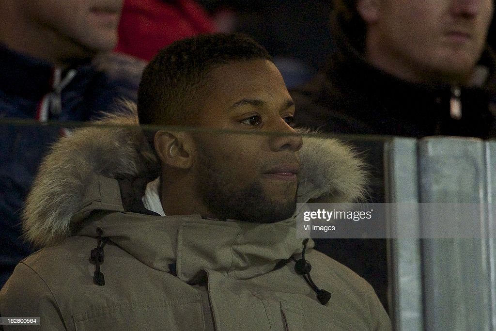 Jeremain Lens of PSV during the Dutch Cup match between PEC Zwolle and PSV Eindhoven at the IJsseldelta Stadium on february 27, 2013 in Zwolle, The Netherlands