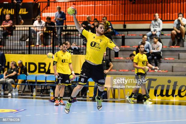 Jeremi Courtois of Tremblay during the Lidl Starligue match between Tremblay and Ivry on October 4 2017 in TremblayenFrance France
