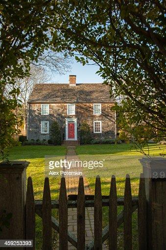 Jeremiah Conklin House. Amagansett, Long Island, USA