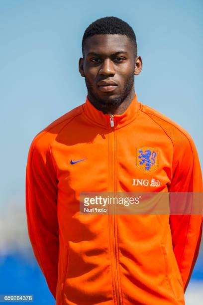Jeremiah St Juste during the friendly match of national teams U21 of Austria vs The Netherlands in Pinatar Arena Murcia SPAIN March 27th 2017