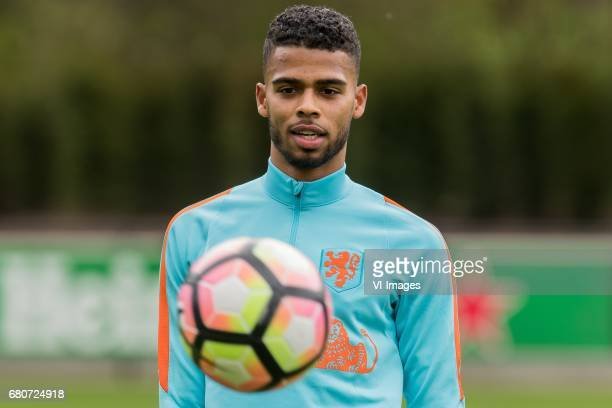 Jeremiah St Juste of Netherland U23during a training session of Netherlands U21 at KNVB Campus on May 09 2017 in Zeist The Netherlands