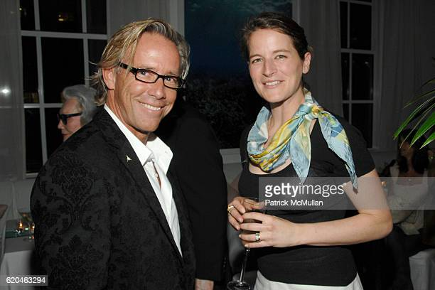 Jeremiah Sullivan and guest attend LA MER and OCEANA Party for WORLD OCEAN DAY 2008 at 620 Loft Garden on June 4 2008 in New York City