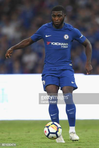 Jeremie Boga of Chelsea during a friendly match between Chelsea and Arsenal at Birds Nest on July 22 2017 in Beijing China