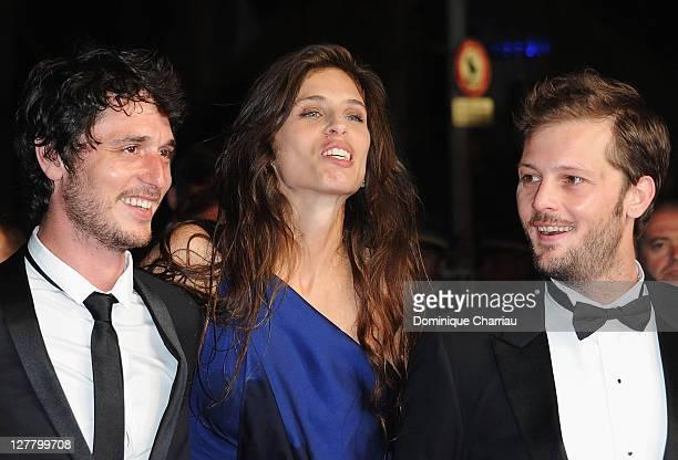 Jeremie Elkaim Maiwenn Le Besco Nicolas Duvauchelle attends the 'Polisse' Premiere during the 64th Annual Cannes Film Festival at the Palais des...