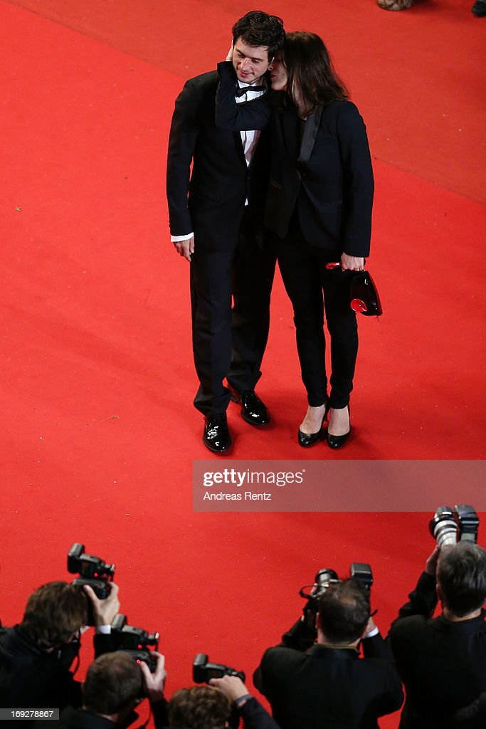 Jeremie Elkaïm and Valerie Donzelli attend the 'Only God Forgives' Premiere during the 66th Annual Cannes Film Festival at Palais des Festivals on May 22, 2013 in Cannes, France.