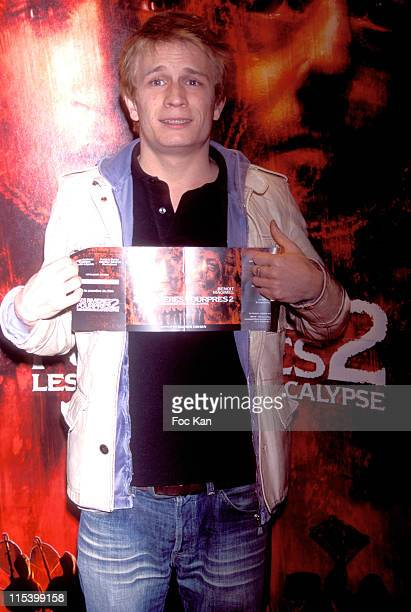 Jeremie Renier during 'Purple Rivers 2' Paris Premiere at Gaumont Marignan in Paris France
