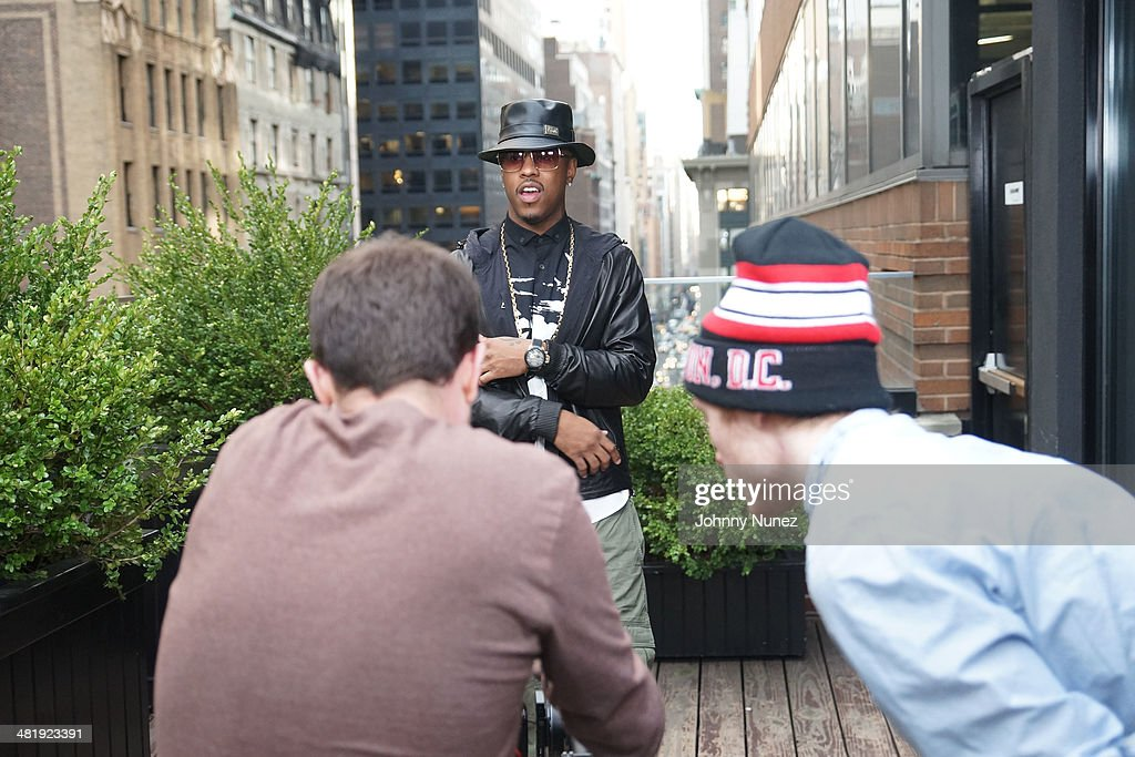 <a gi-track='captionPersonalityLinkClicked' href=/galleries/search?phrase=Jeremih&family=editorial&specificpeople=5773399 ng-click='$event.stopPropagation()'>Jeremih</a> attends Vado's 'My Bae' video shoot featuring <a gi-track='captionPersonalityLinkClicked' href=/galleries/search?phrase=Jeremih&family=editorial&specificpeople=5773399 ng-click='$event.stopPropagation()'>Jeremih</a> at The Griffin on April 1, 2014 in New York City.