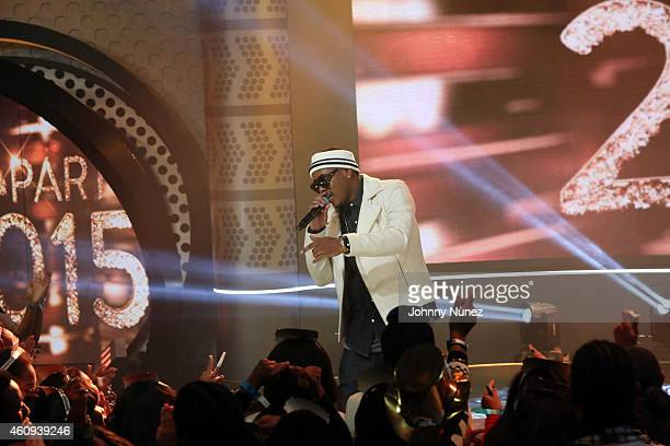 Jeremih performs during BET's '106 Party' at BET Studios on December 12 in New York City