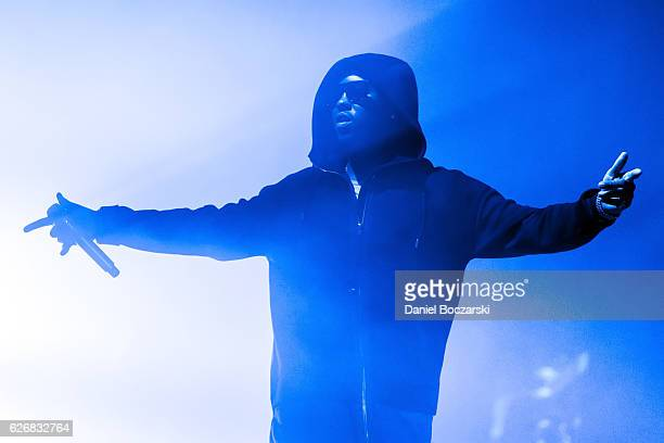 Jeremih performs during the Summer's Over Tour at Aragon Ballroom on November 29 2016 in Chicago Illinois