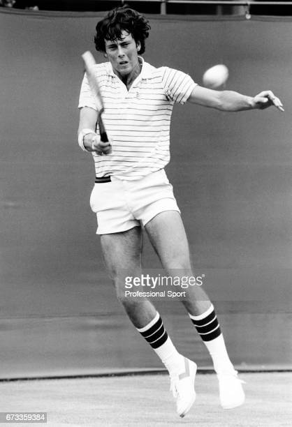 Jeremy Bates of Great Britain in action circa 1980
