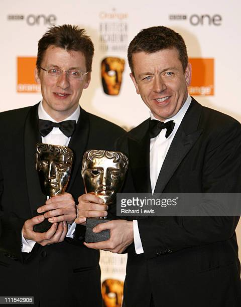 Jeremy Brock and Peter Morgan winners of Best Adapted Screenplay Award for 'The Last King Of Scotland'