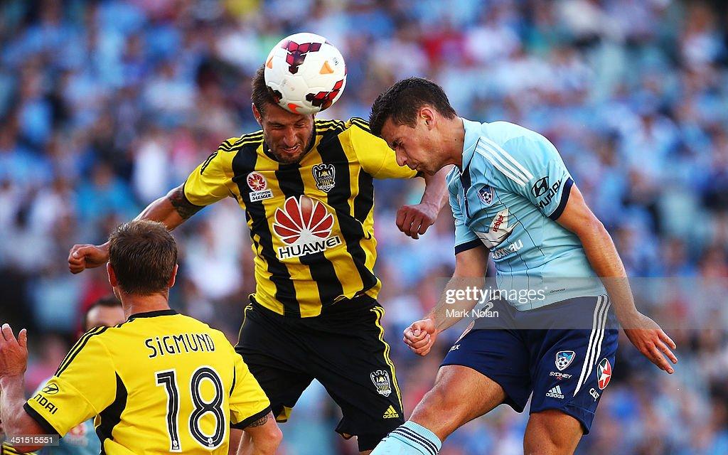A-League Rd 7 - Sydney v Wellington