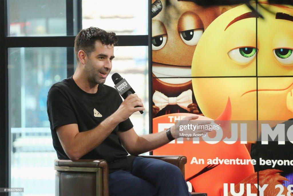 Jeremy Burge, creator of World Emoji Day visit Build to discuss 'The Emoji Movie' at Build Studio on July 17, 2017 in New York City.