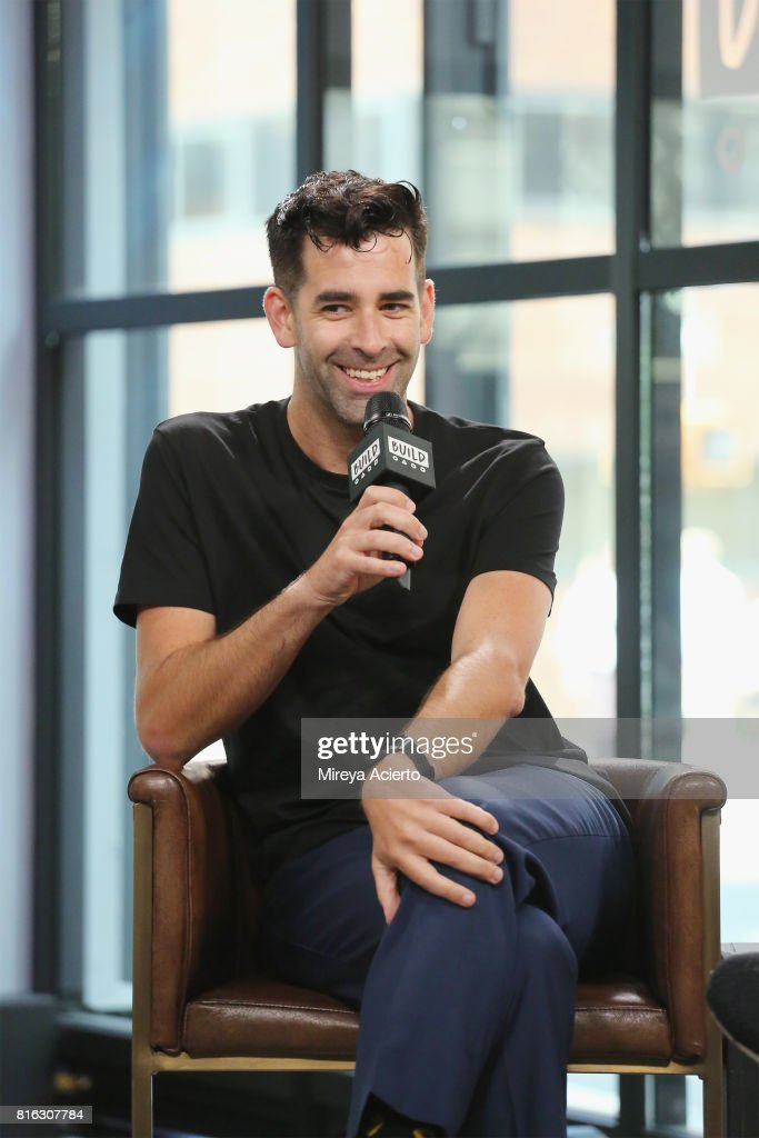 Jeremy Burge, creator of World Emoji Day visits Build to discuss 'The Emoji Movie' at Build Studio on July 17, 2017 in New York City.
