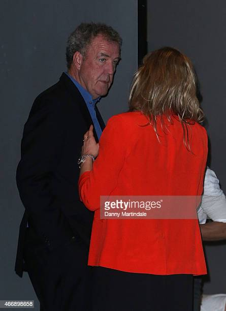 Jeremy Clarkson attends The Roundhouse Gala at The Roundhouse on March 19 2015 in London England
