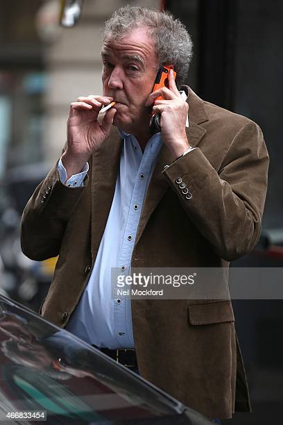 Jeremy Clarkson heads to The Ritz Club for lunch on March 19 2015 in London England