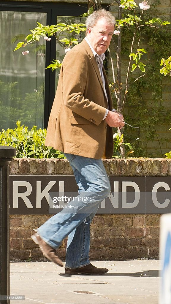 <a gi-track='captionPersonalityLinkClicked' href=/galleries/search?phrase=Jeremy+Clarkson&family=editorial&specificpeople=217586 ng-click='$event.stopPropagation()'>Jeremy Clarkson</a> is seen in Notting Hill on April 28, 2015 in London, England.