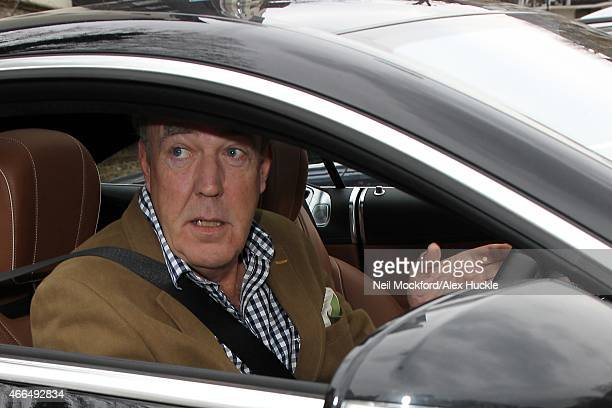 Jeremy Clarkson seen leaving his house on March 16 2015 in London England