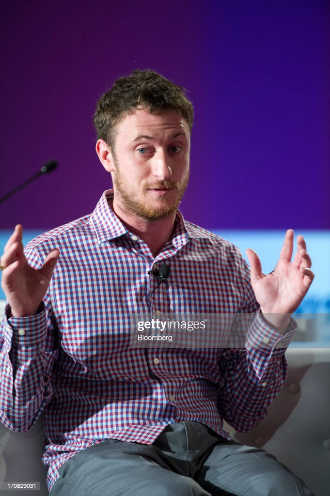 Jeremy Conrad, co-founder of Lemnos Labs Inc., speaks during the Bloomberg Next Big Thing summit in Half Moon Bay, California, U.S., on Tuesday, June 18, 2013. The summit convenes investors and entrepreneurs in technology, science and data to examine the future of technology, business and how innovation is changing the human experience. Photographer: David Paul Morris/Bloomberg via Getty Images