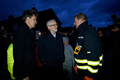 GBR: Jeremy Corbyn Visits Flood Victims And Volunteers In Doncaster