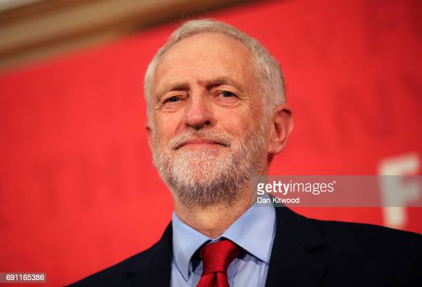 Jeremy Corbyn delivers a speech on Labour's plan for Brexit negotiations at Pitsea Leisure Centre on June 1 2017 in Basildon England Polling analysis...