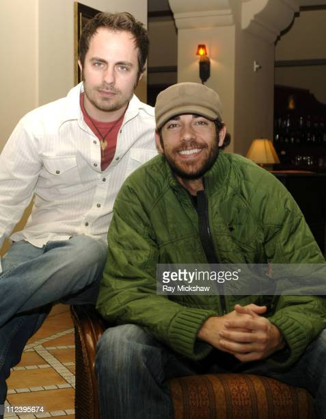 Jeremy Danial Boreing producer and Zachary Levi producer actor and writer of 'Spiral'
