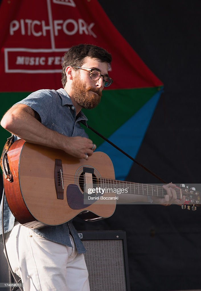 Jeremy Earl of Woods performs on stage on Day 1 of Pitchfork Music Festival 2013 at Union Park on July 19, 2013 in Chicago, Illinois.