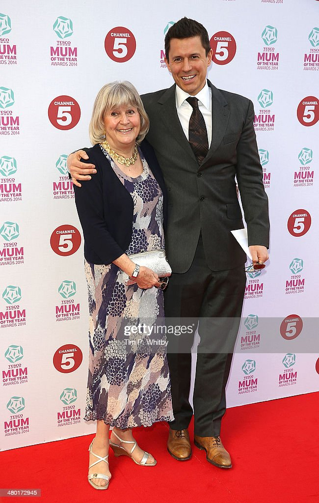 <a gi-track='captionPersonalityLinkClicked' href=/galleries/search?phrase=Jeremy+Edwards&family=editorial&specificpeople=210866 ng-click='$event.stopPropagation()'>Jeremy Edwards</a> and his mother attend the Tesco Mum of the Year awards at The Savoy Hotel on March 23, 2014 in London, England.