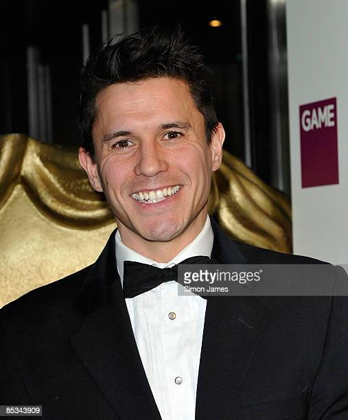 Jeremy Edwards attends the BAFTA Video Games Awards at London Hilton on March 10 2009 in London England