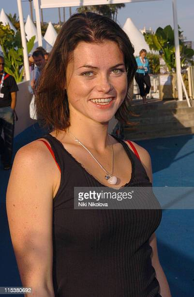 Jeremy Edwards Holly Davidson and Tom Watt during 2005 Cannes Film Festival 'Lost Dogs' Photocall in Cannes France