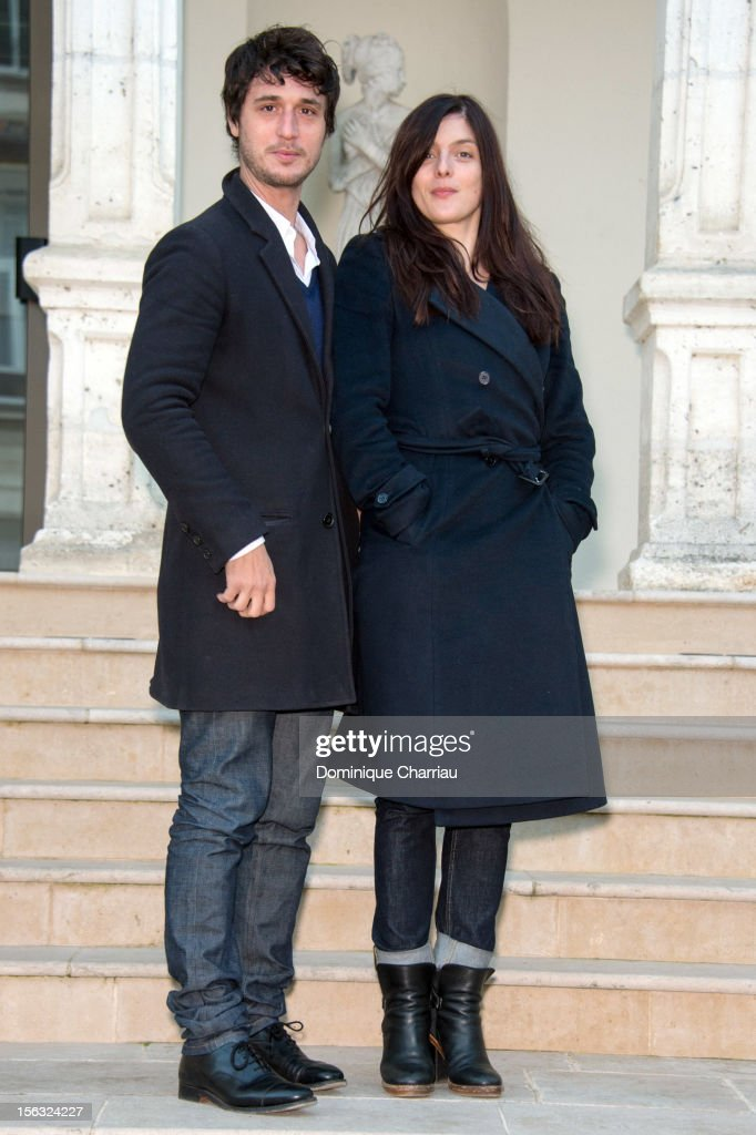 Jeremy Elkaim and Valerie Donzelli attend the 'Main dans la main' photocall during the 21st Sarlat Film Festival on November 13 2012 in...