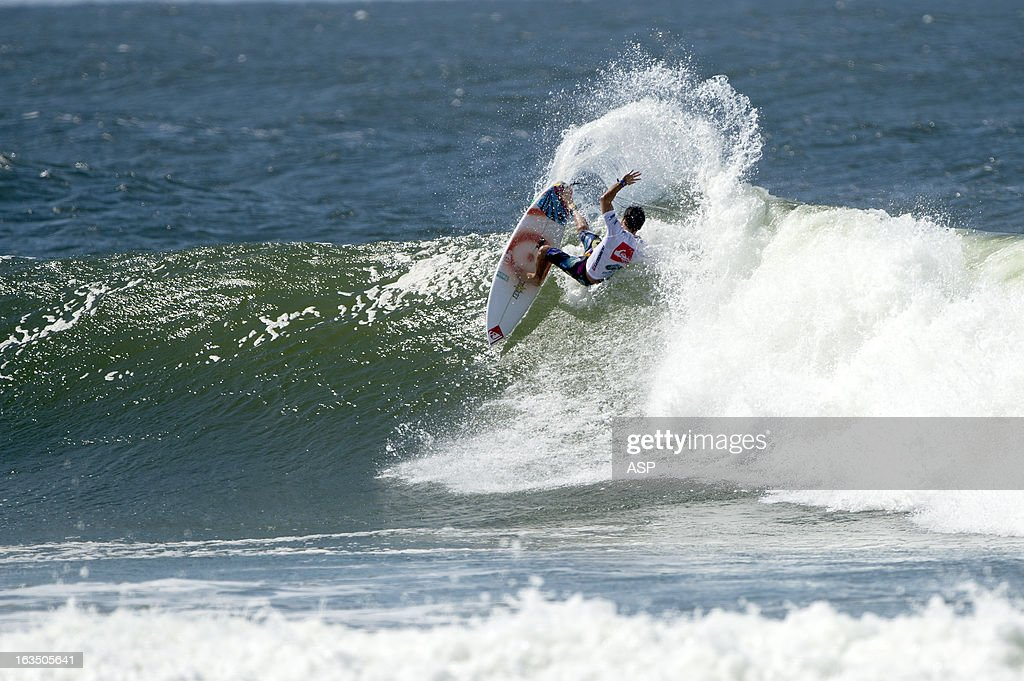 Jeremy Flores of France in action during the Quiksilver Pro on March 11, 2013 in Gold Coast, Australia.