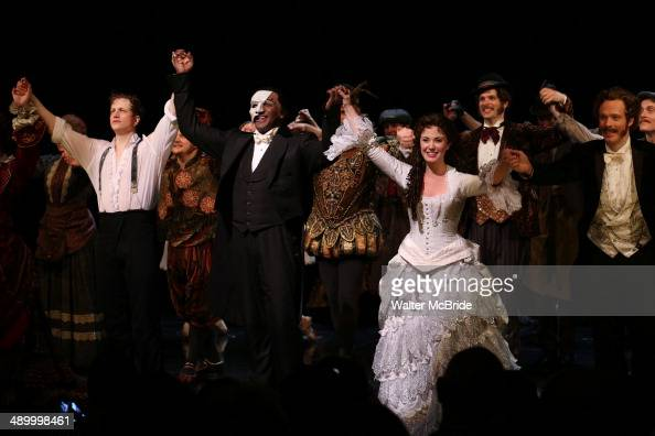 Jeremy Hays Michelle McConnell Norm Lewis Sierra Boggess Join The Cast Of Broadway's 'The Phantom Of The Opera' on May 12 2014 at the Majestic...