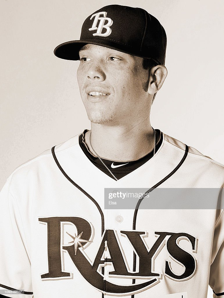 Jeremy Hellickson of the Tampa Bay Rays poses for a portrait during the Tampa Bay Rays Photo Day on February 22 2011 at the Charlotte Sports Complex...