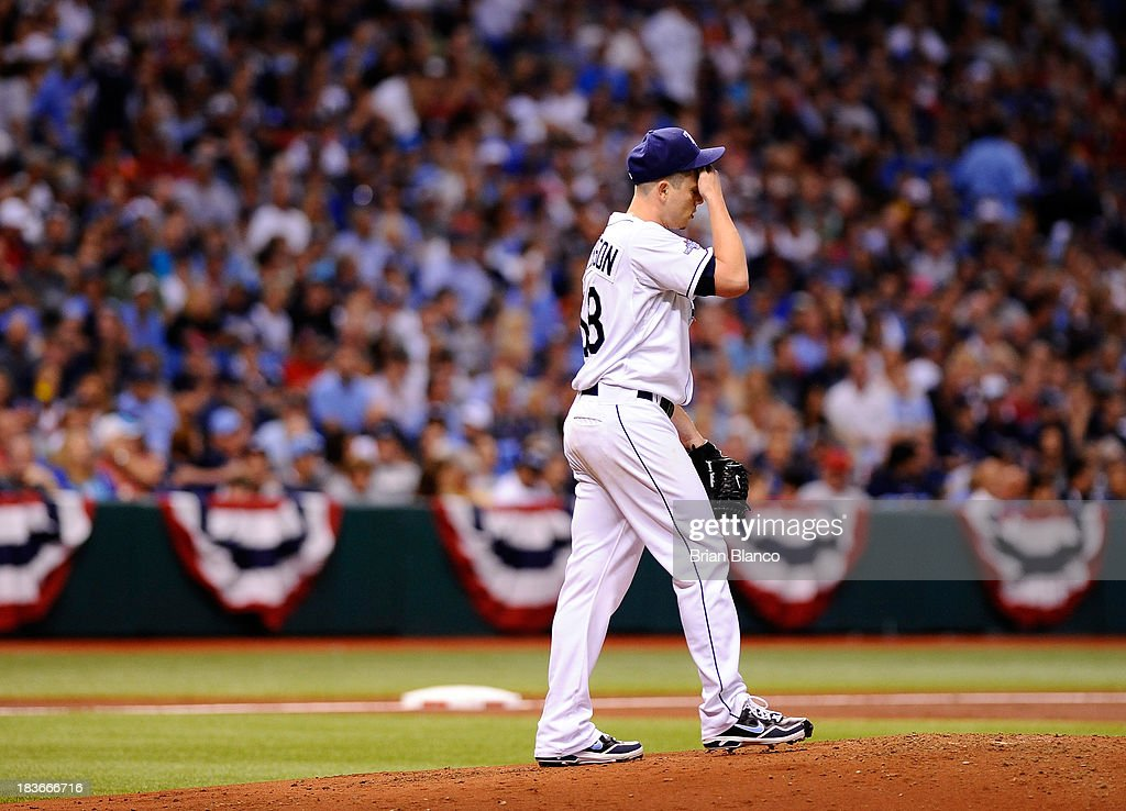 Division Series - Boston Red Sox v Tampa Bay Rays - Game Four