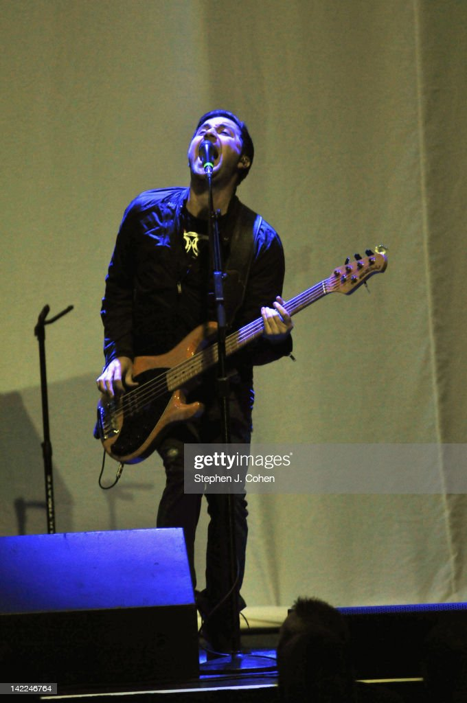 Jeremy Henshaw of Safetysuit performs at the Louisville Palace on March 31, 2012 in Louisville, Kentucky.