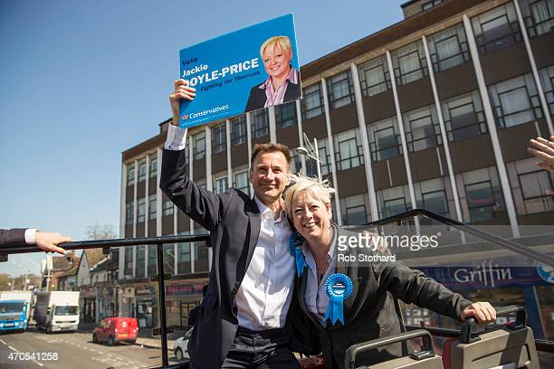 Jeremy Hunt incumbent Secretary of State for Health and the Member of Parliament for South West Surrey joins Jackie DoylePrice incumbent MP for...