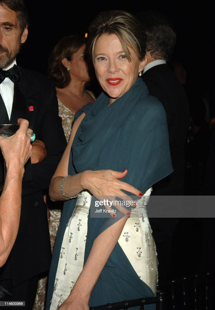 <a gi-track='captionPersonalityLinkClicked' href=/galleries/search?phrase=Jeremy+Irons&family=editorial&specificpeople=203309 ng-click='$event.stopPropagation()'>Jeremy Irons</a> and <a gi-track='captionPersonalityLinkClicked' href=/galleries/search?phrase=Annette+Bening&family=editorial&specificpeople=202568 ng-click='$event.stopPropagation()'>Annette Bening</a> during 58th Annual Primetime Emmy Awards - Governors Ball at The Shrine Auditorium in Los Angeles, California, United States.