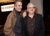 Jeremy Irons and Jeremy Thomas attend the launch of the 3rd annual 'Made In Britain' season featuring the films of producer Jeremy Thomas at the BFI...