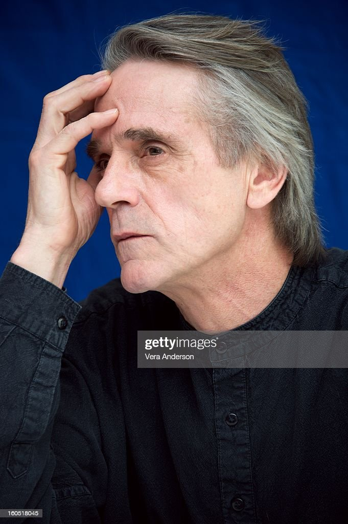 Jeremy Irons attends the 'Beautiful Creatures' Press Conference at the SLS Hotel on February 1, 2013 in Beverly Hills, California.