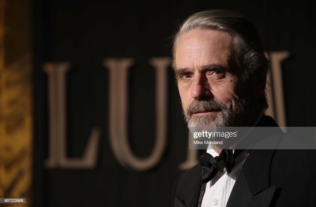Jeremy Irons attends the BFI Luminous Fundraising Gala at The Guildhall on October 3, 2017 in London, England.