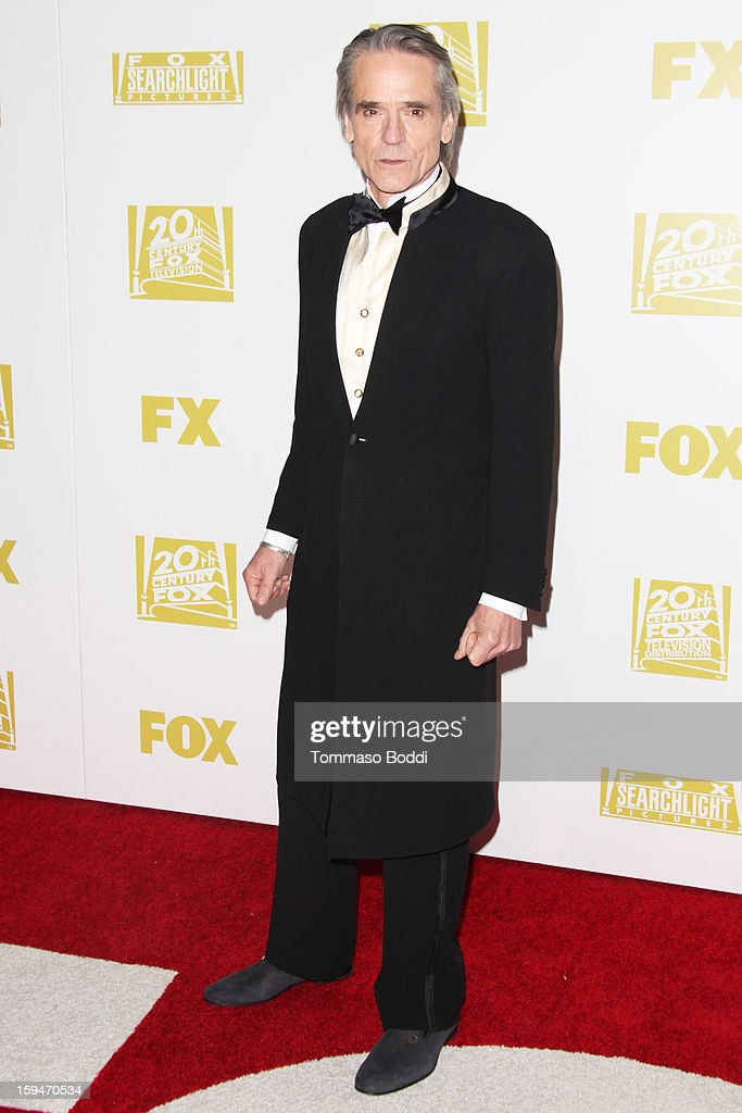 Jeremy Irons attends the FOX Golden Globe after party held at the FOX Pavilion at the Golden Globes on January 13, 2013 in Beverly Hills, California.